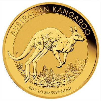 Australski klokan 1/10 unce