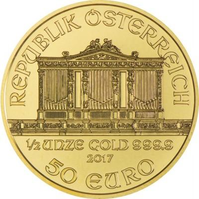Zlatni Bečki filharmoničar 1/2 unce