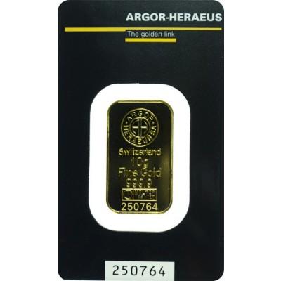 Zlatna poluga 10 g