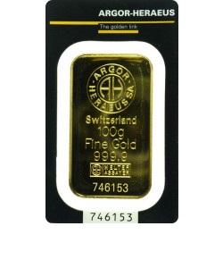 Zlatna poluga 100 g