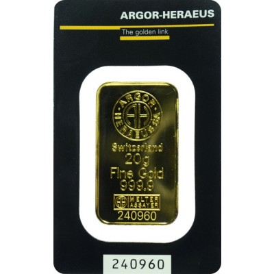 Zlatna poluga 20 g