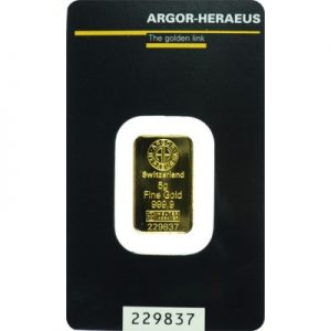 Zlatna poluga 5 g